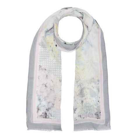 Silver Lining Print Scarf, ${color}