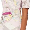 Floral Print Jersey Dress, ${color}