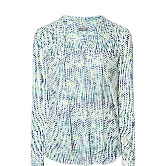 Multi Dotted Blouse
