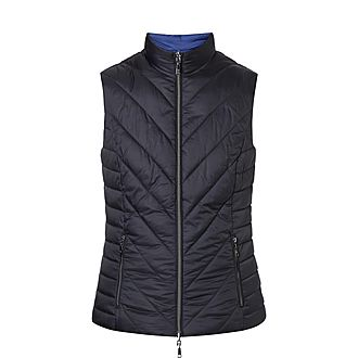 Reverisble Quilted Gilet