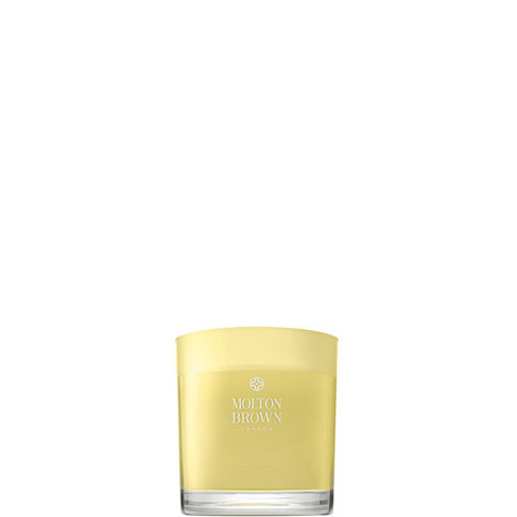 Orange & Bergamot Three Wick Candle, ${color}