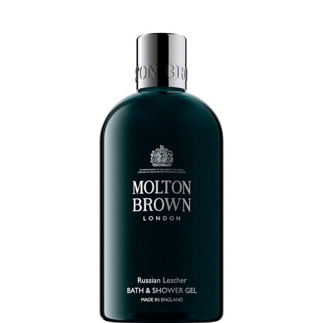 Russian Leather Bath & Shower Gel 300ml, ${color}