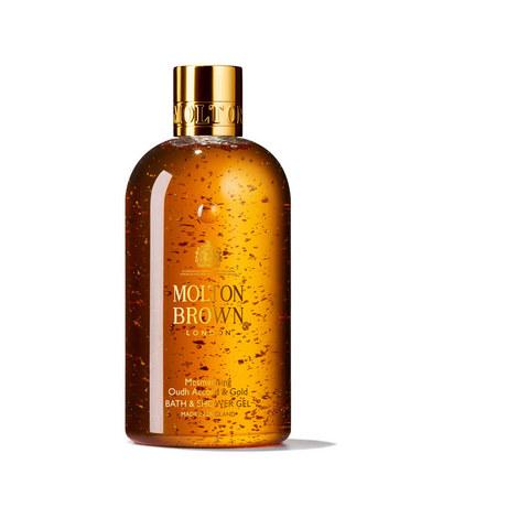 Mesmerising Oudh Accord & Gold Bath & Shower Gel Christmas Edition, ${color}