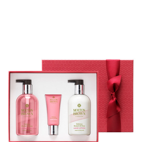 Delicious Rhubarb & Rose Hand Gift Set, ${color}