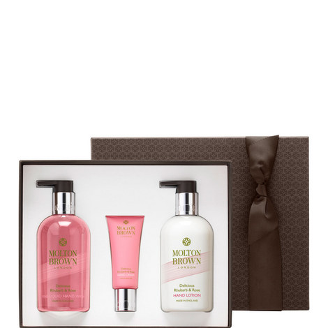 Rhubarb & Rose Hand Gift Set, ${color}
