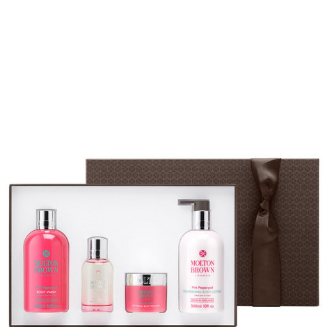Fiery Pink Pepper Pampering Body Gift Set, ${color}