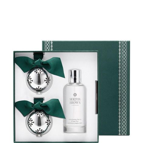 Fabled Juniper Berries & Lapp Pine Home & Festive Ornament Gift Set, ${color}