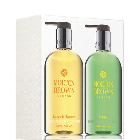 Lemon & Mandarin and Puritas Hand Wash Set, ${color}