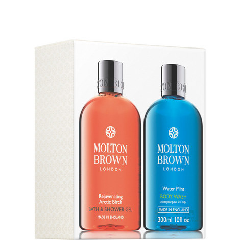Rejuvenating Arctic Birch & Watermint Shower Gel Set, ${color}