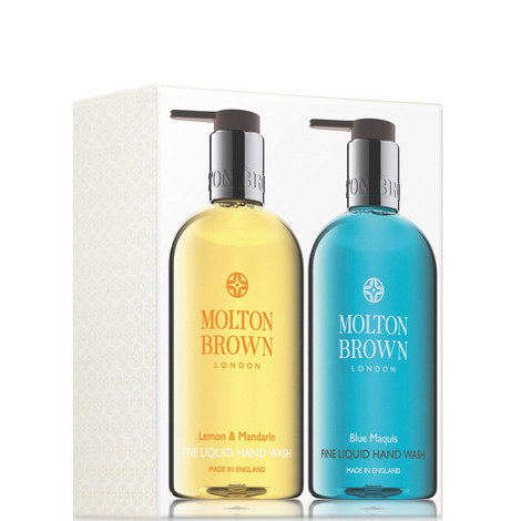 Lemon & Mandarin and Blue Maquis Hand Wash Set, ${color}