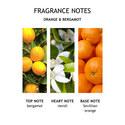 Orange & Bergamot Bath & Shower Gel 300ml, ${color}