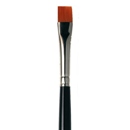 Flat Eye Liner Brush - Long, ${color}