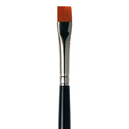 Flat Eye Liner Brush - Travel, ${color}