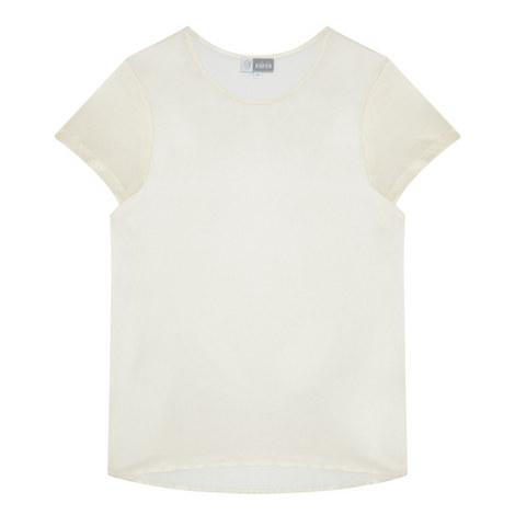 Camy Silk Pyjama Top, ${color}
