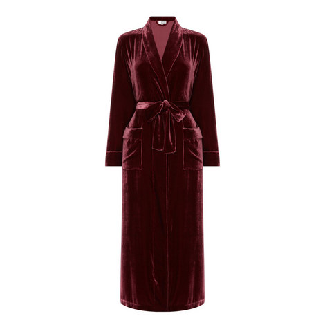 Daniela Velvet Robe, ${color}