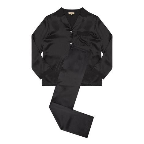 Laila Silk Pyjama Set, ${color}