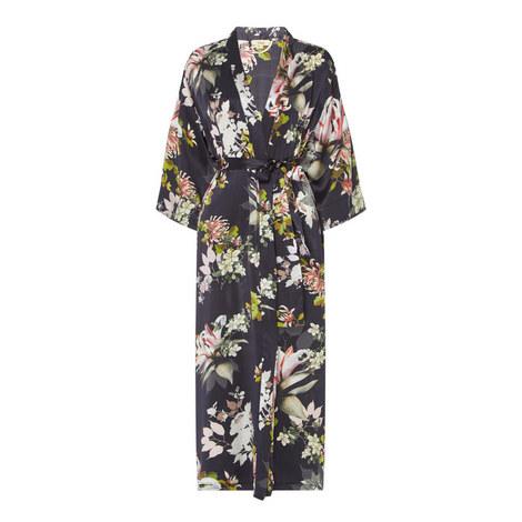 Fabiana Floral Print Robe, ${color}