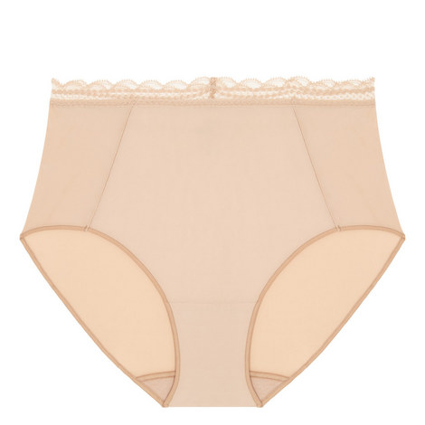 Soft High Waist Briefs, ${color}