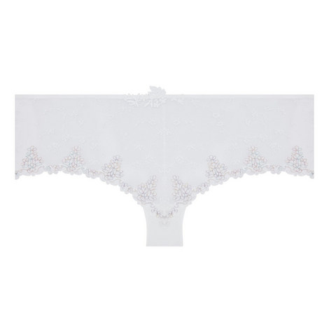 White Nights Lace Short Briefs, ${color}