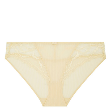 Zoe Lace-Trimmed Briefs, ${color}