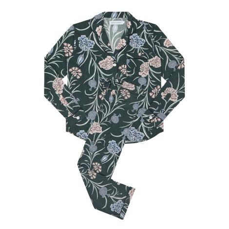 Floral Print Pyjama Set, ${color}