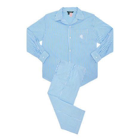 Classic Woven Pyjama Set, ${color}