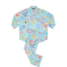 Floral Print Cotton Pyjama Set