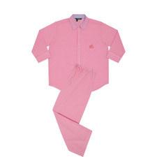 Gingham Print Pyjama Set
