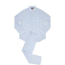 Stripe Print Pyjama Set