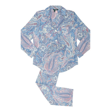 Paisley Pyjama Set, ${color}