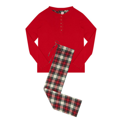 Henley Plaid Pyjamas, ${color}