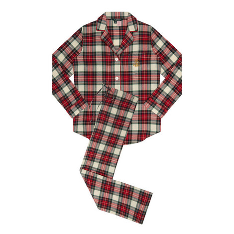 Plaid Pyjama Set, ${color}