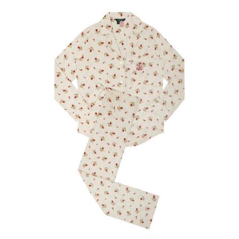 Rosebud Print Pyjamas, ${color}