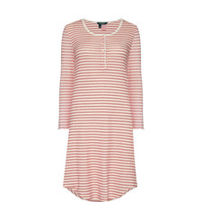 Stripe Print Night Dress