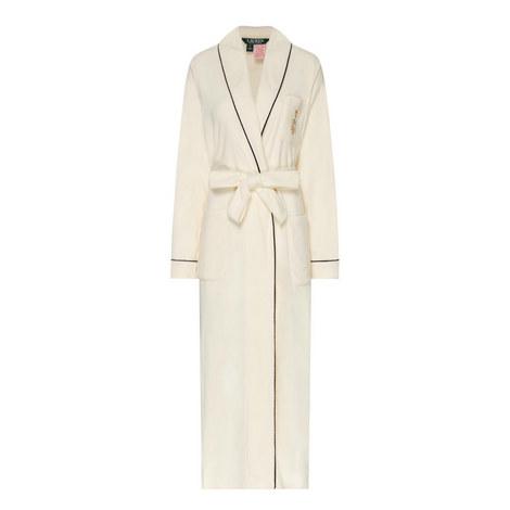 Long Fleece Robe, ${color}
