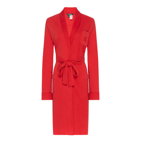 Shawl Collar Robe, ${color}