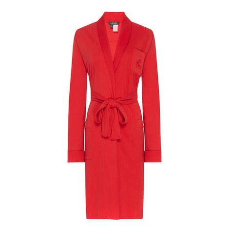 Shawl Collar Robe, ${color}