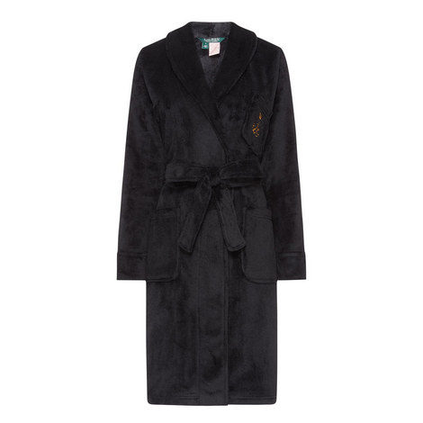 Short Shawl Collar Robe, ${color}