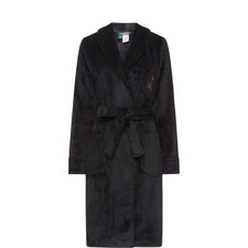 Short Shawl Collar Robe