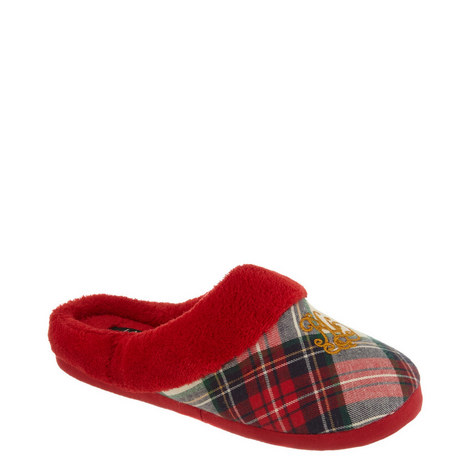 Plaid Slippers, ${color}