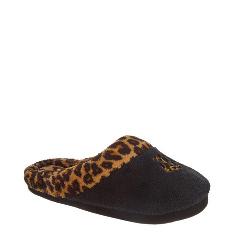 Leopard Print Slippers, ${color}