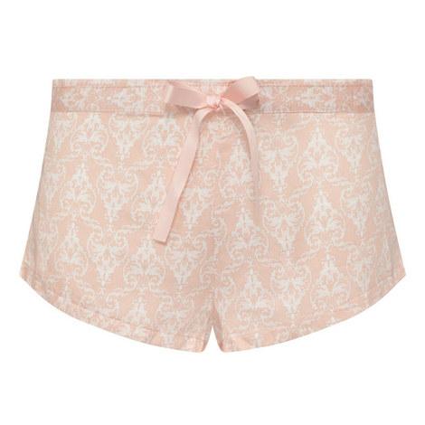 Vanity Buds Printed Shorts, ${color}