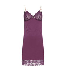 Zoe Lace-Trimmed Chemise