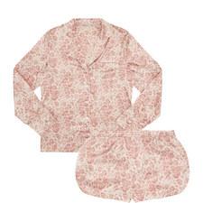 Poppy Snoozing Leopard Print Pyjamas