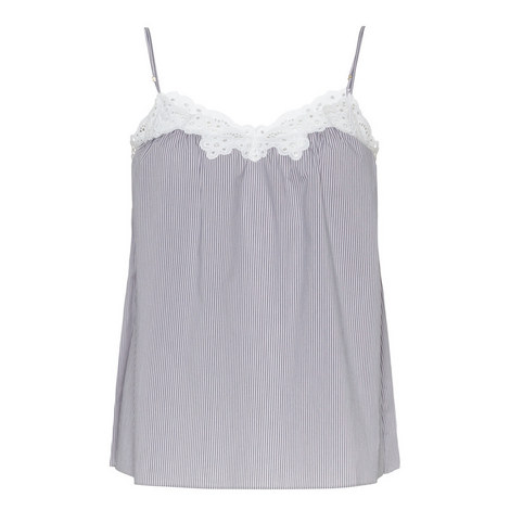 Marie Skipping Striped Camisole, ${color}