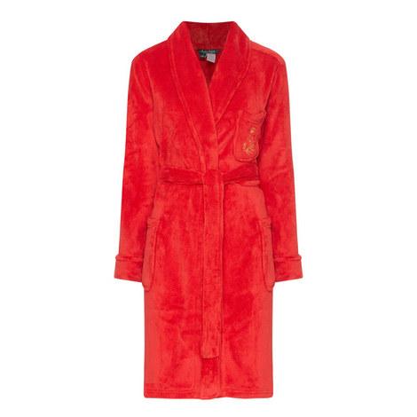Soft Shawl Collar Robe, ${color}