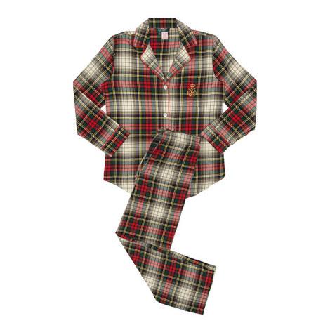 Classic Woven Check Pyjama Set, ${color}