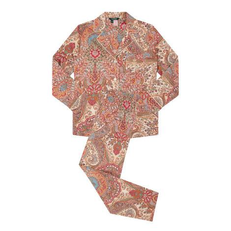 Paisley Pyjama Set, ${color}