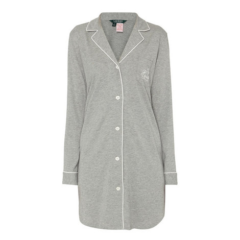 Long Sleeve Sleepshirt, ${color}