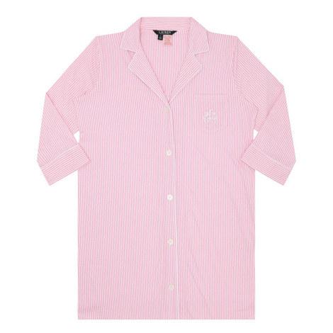 Pinstripe Pyjama Shirt, ${color}